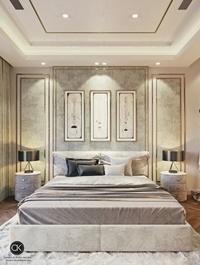 CK Bedroom Interior Scene