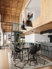 Modern Living Room Interior Scene by LongBup